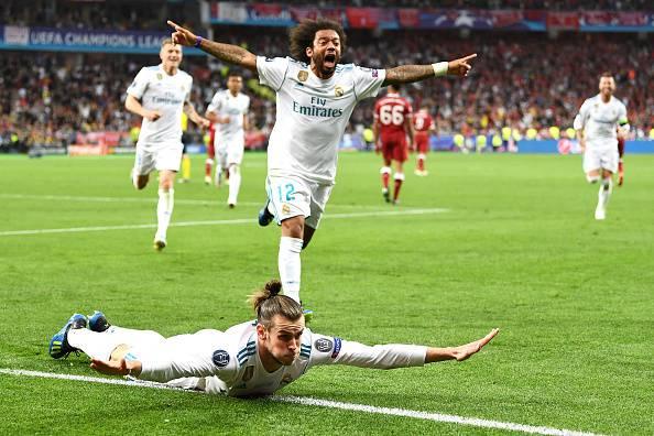 Gareth Bale Marcelo