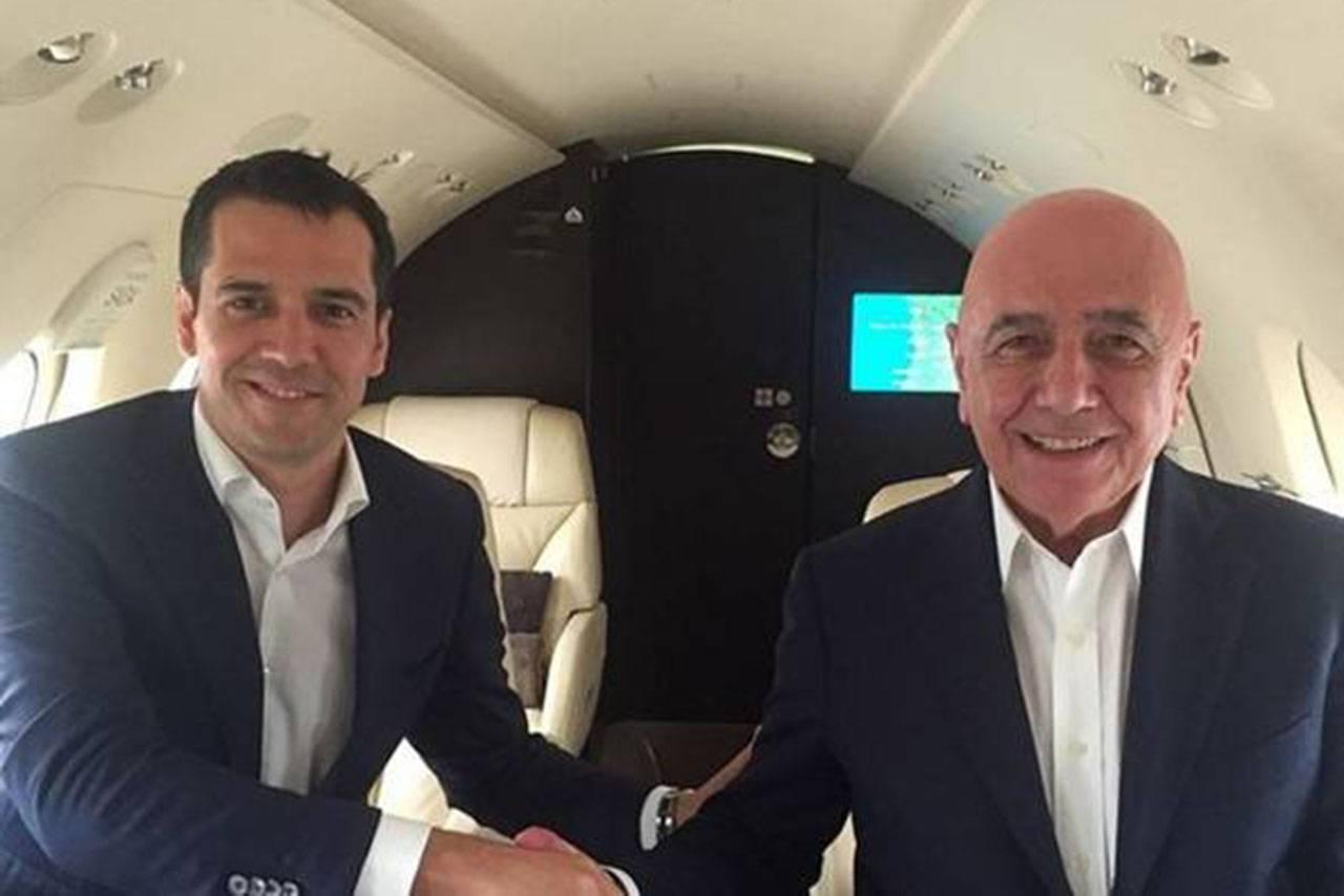 Nelio Lucas e Adriano Galliani
