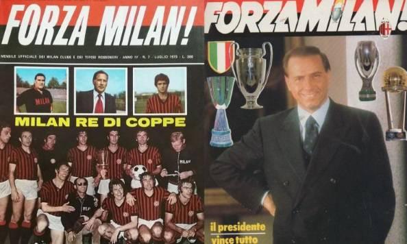"Copertina mensile ""Forza Milan"""
