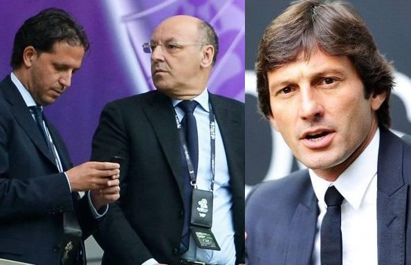 Fabio Paratici Beppe Marotta Leonardo