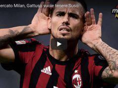Calciomercato Milan Suso resta al Milan