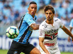 Lucas Barrios Rodrigo Caio