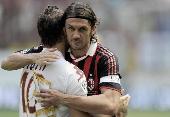 Francesco Totti Paolo Maldini