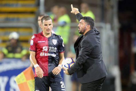 Gennaro Gattuso Simone Padoin