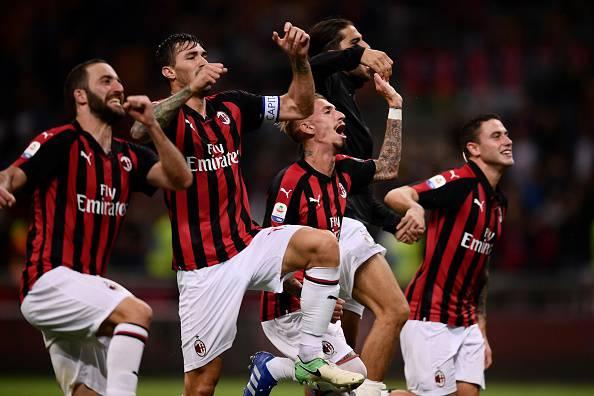 AC Milan AS Roma