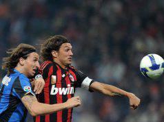Ibrahimovic e Paolo Maldini