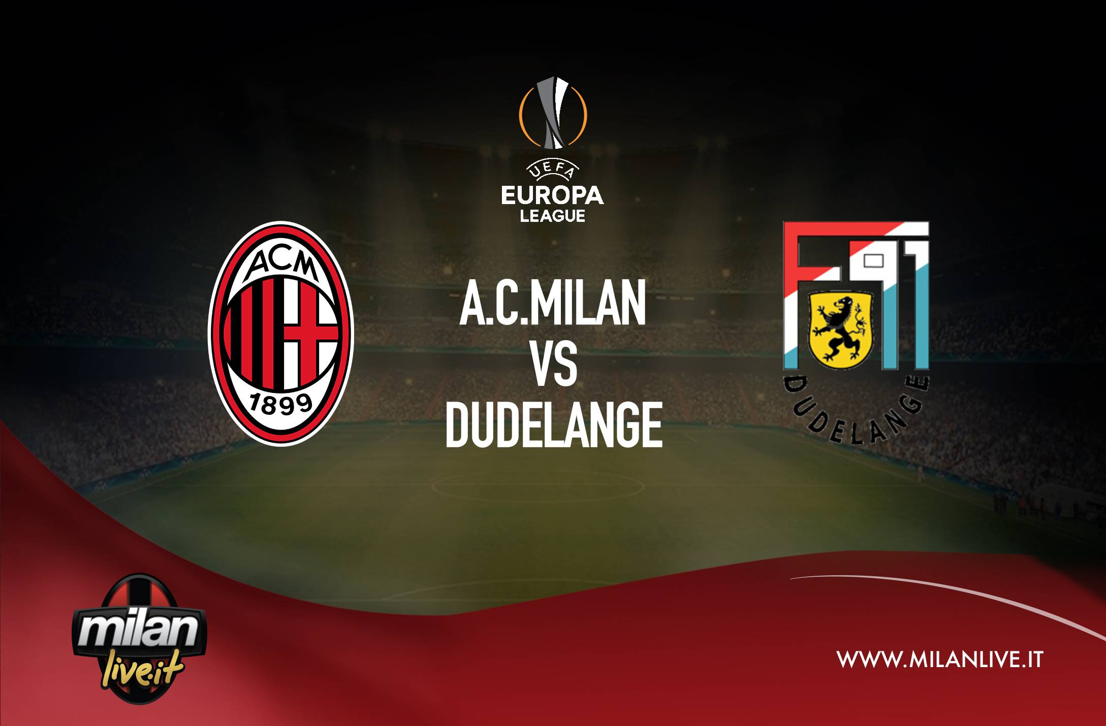 Milan-Dudelange streaming