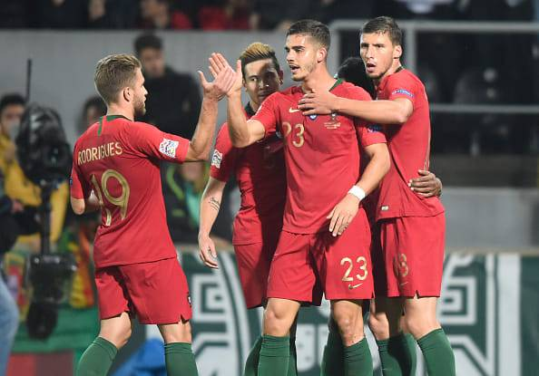 andre silva portogallo polonia nations league