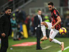 Hakan Calhanoglu Gennaro Gattuso