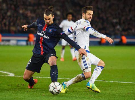Cesc Fabregas Zlatan Ibrahimovic