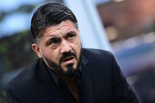 Gennaro Gattuso Milan Fiorentina