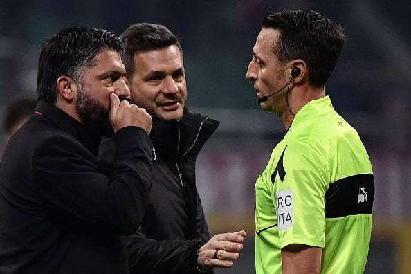 Gennaro Gattuso arbitro Abisso