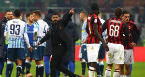 Gennaro Gattuso Milan-Spal