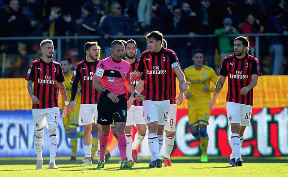 Frosinone-Milan