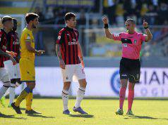 VAR Frosinone-Milan Alessio Romagnoli
