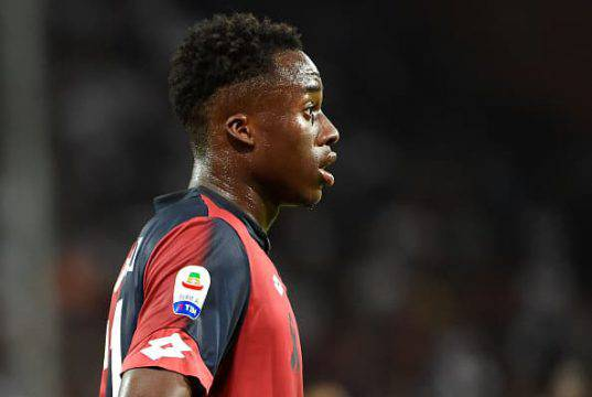 Christian Kouame calciomercato milan genoa