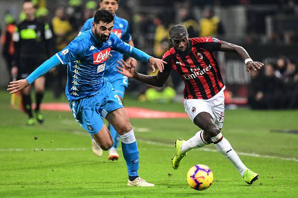 Milan-Napoli di Coppa Italia, dove vederla in tv e streaming