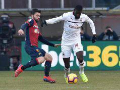 Tiemoué Bakayoko Genoa Milan