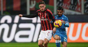 Davide Calabria Lorenzo Insigne Milan-Napoli