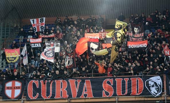 Curva Sampdoria Milan Marassi