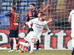 Esultanza Fabio Borini Genoa-Milan