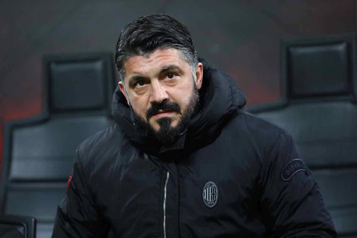 Gennaro Gattuso Milan Napoli