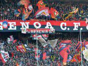 Curva Genoa Milan Tifosi