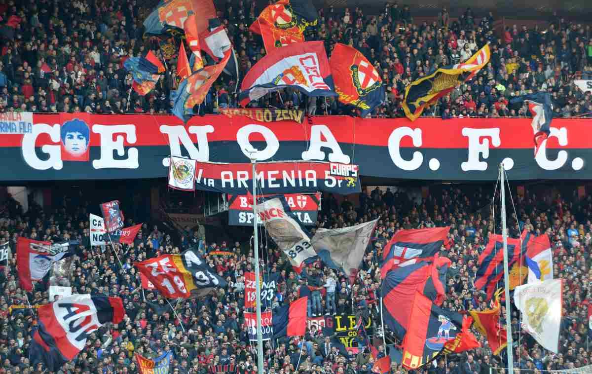 Genoa, monta la protesta: sciopero del tifo con il Milan