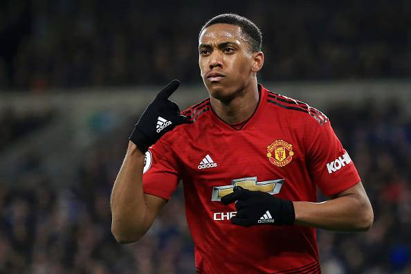 Anthony martial calciomercato milan manchester united