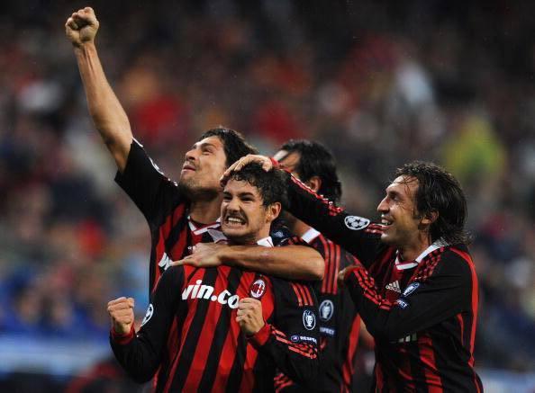 Pato esultanza Real Madrid Milan