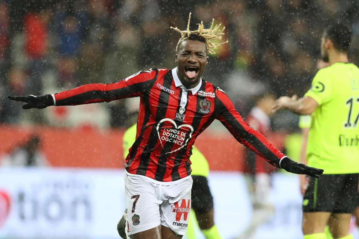 Milan, Saint-Maximin in rotta col Nizza: i rossoneri restano vigili