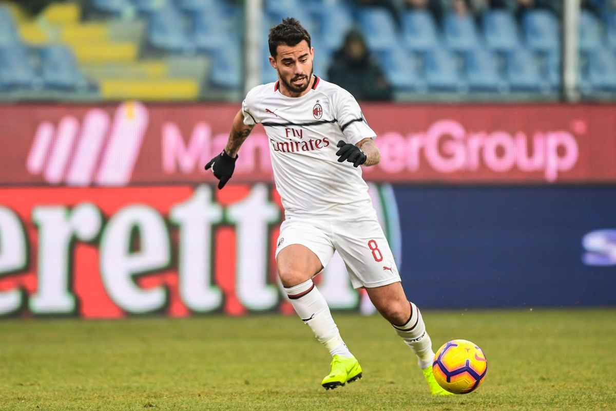 Suso jesus AC Milan Genoa