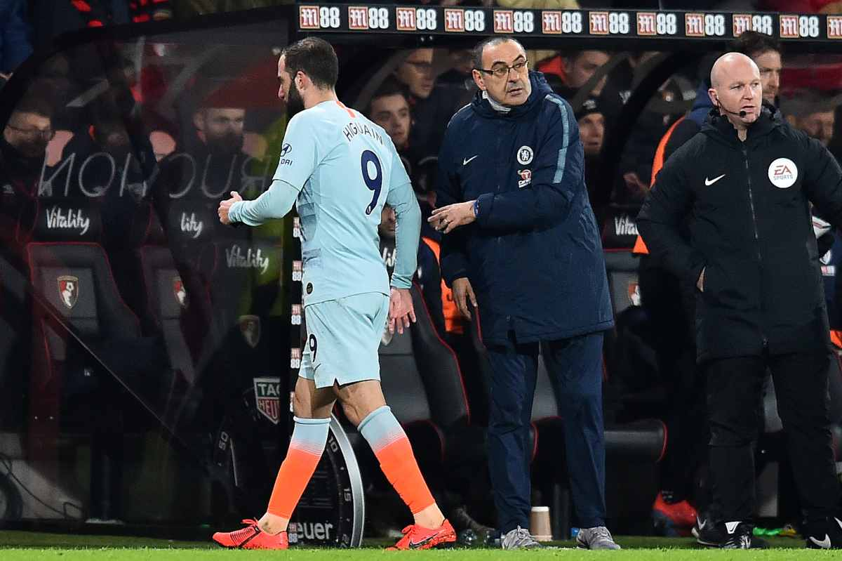 Premier League, Sarri non saluta Guardiola a fine partita
