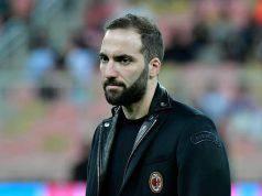 Gonzalo Higuain AC Milan