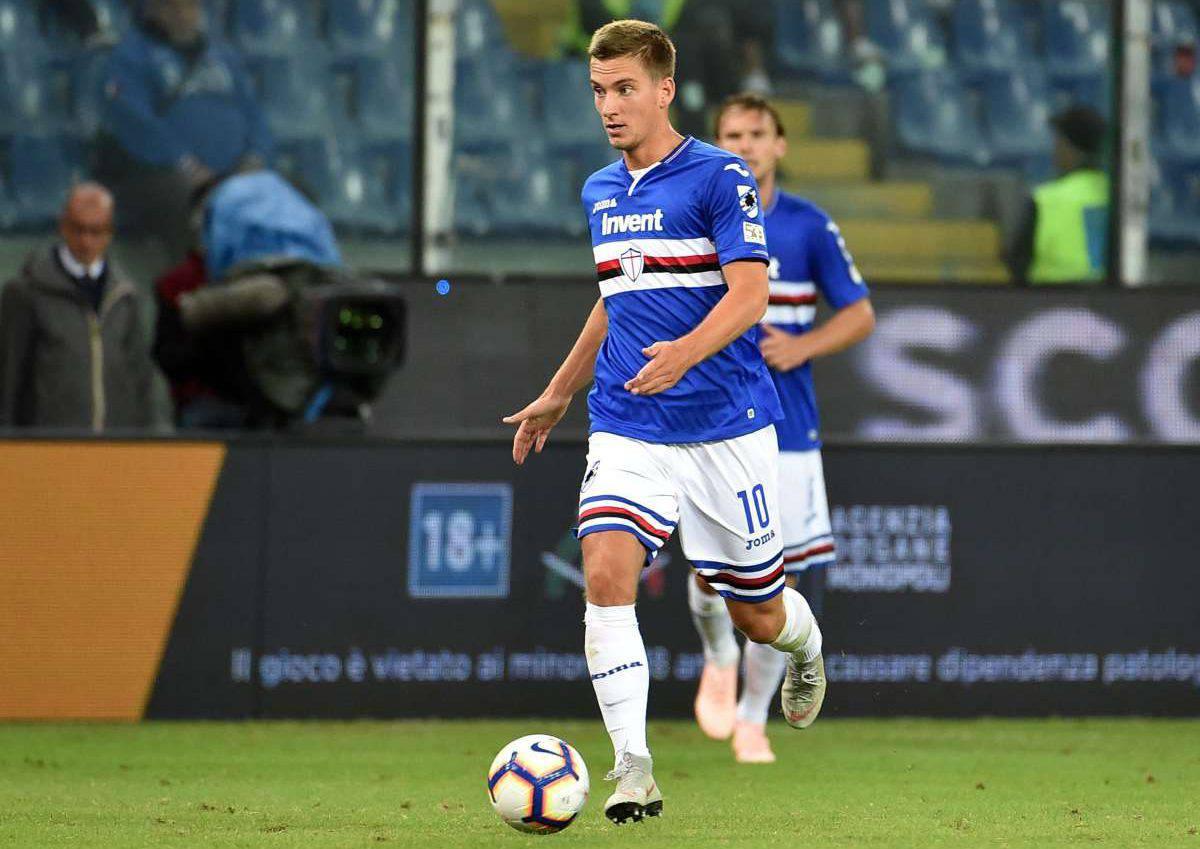 Dennis Praet Sampdoria Milan