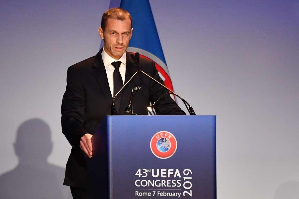 Ceferin UEFA presidente FFP