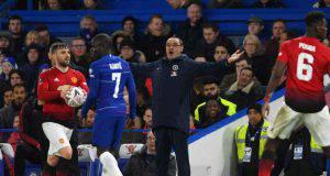Chelsea-Manchester United Maurizio Sarri