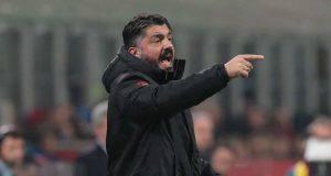 Gennaro Gattuso in Lazio-Milan