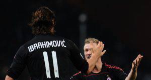 Zlatan Ibrahimovic Ignazio Abate