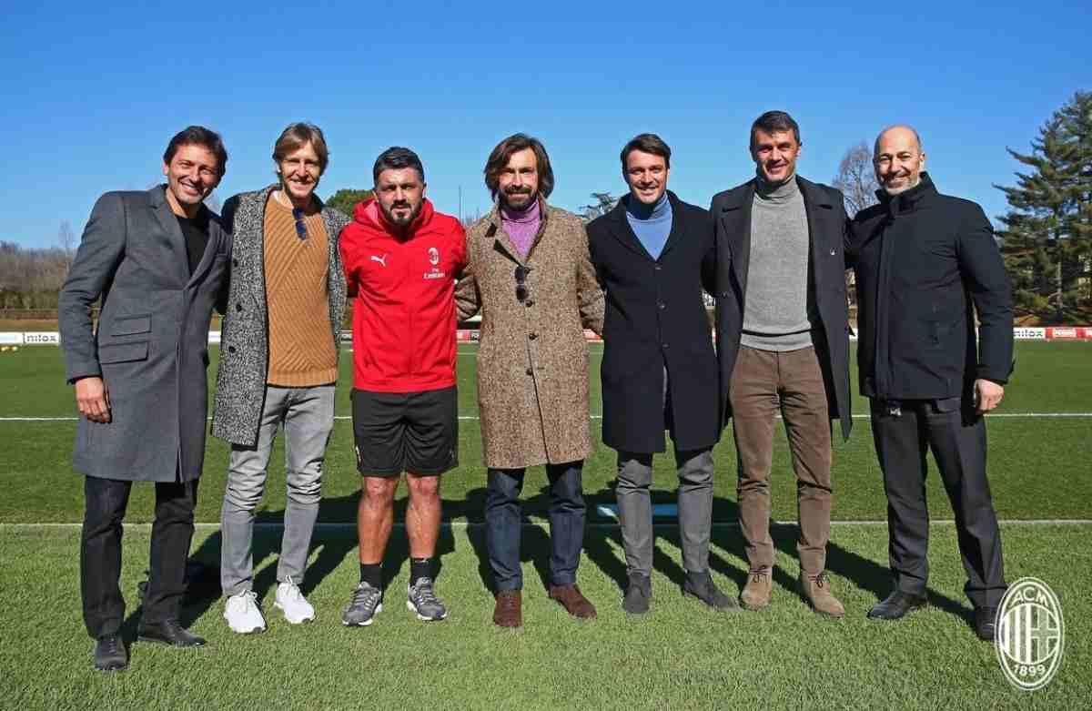 Милан руководство
