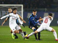 Paqueta calhanoglu ilicic Atalanta Milan