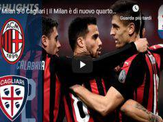 Milan Cagliari Video