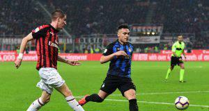 Andrea Conti Milan Inter
