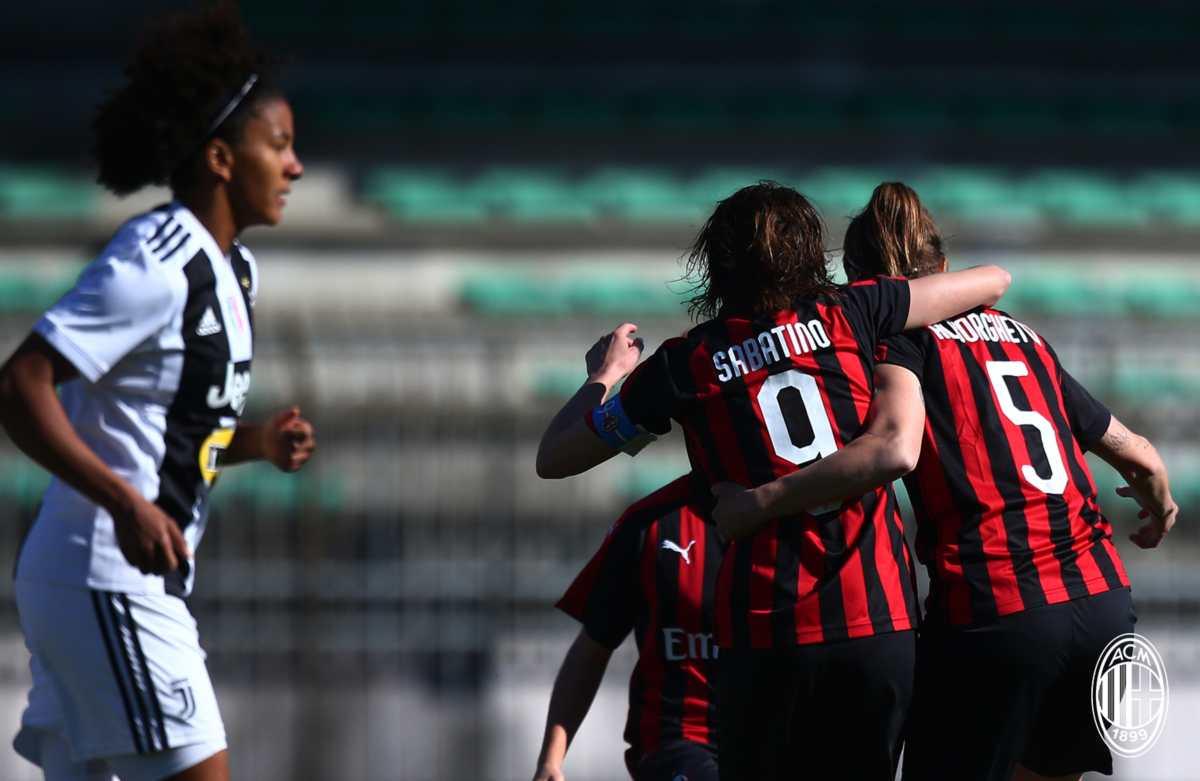 Milan femminile Juventus Woman