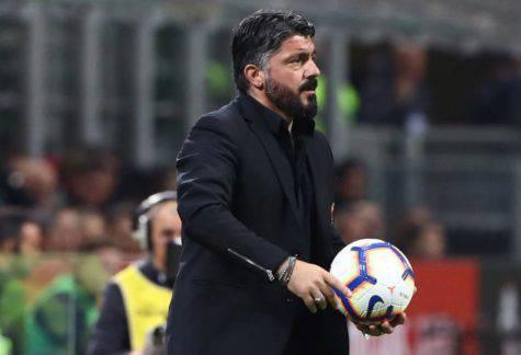 Sala pressa Inter e Milan: