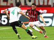 Hakan Calhanoglu Milan Sassuolo