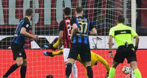 Bakayoko gol Milan Inter