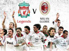 Liverpool Legends Milan Glorie