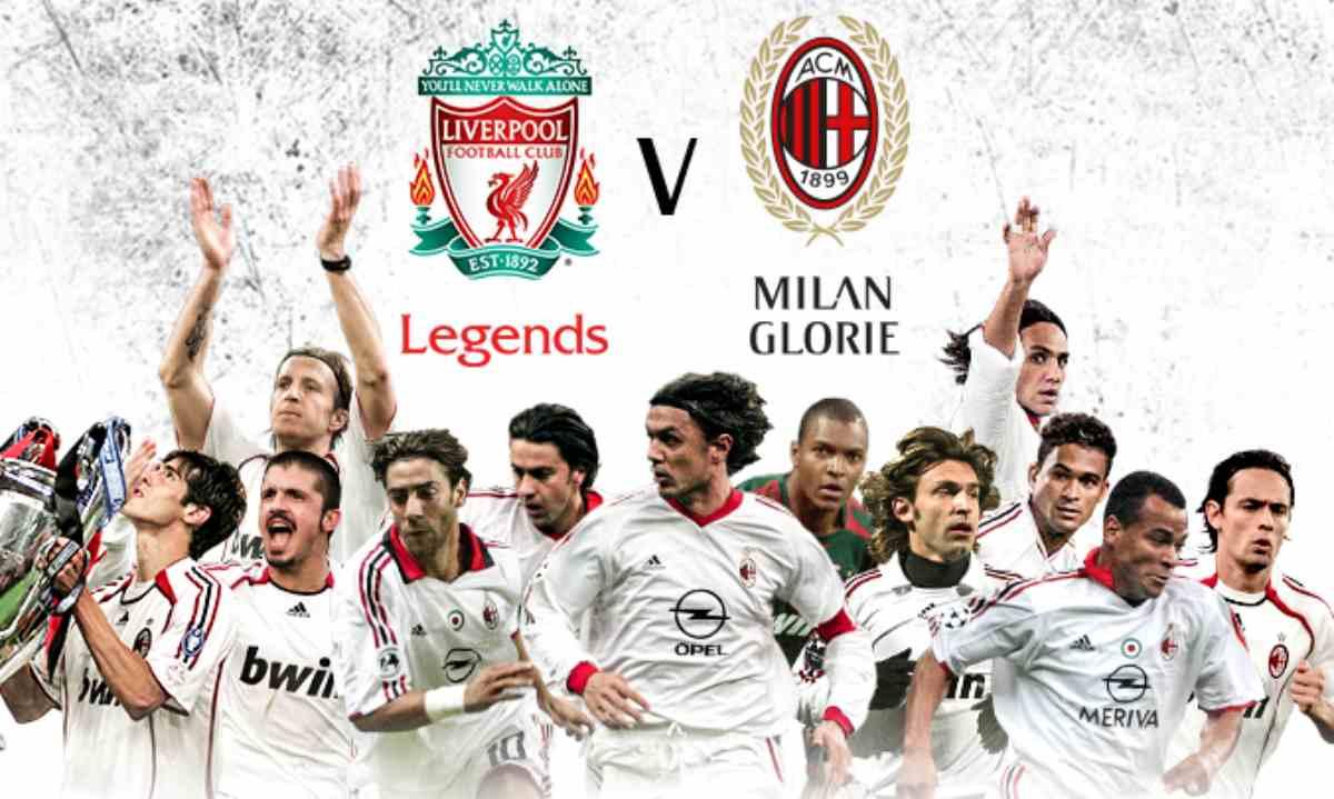 Liverpool Legends Milan Glorie