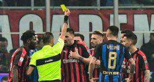 Milan-Inter Alessio Romagnoli Guida